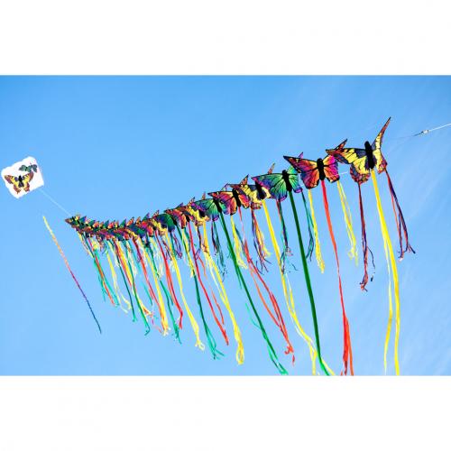 HQ Бабочка Монарх Руби 130 см