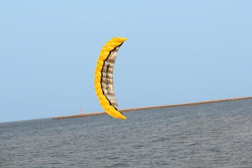 Кайт Sport Zone Yellow 2.5 m