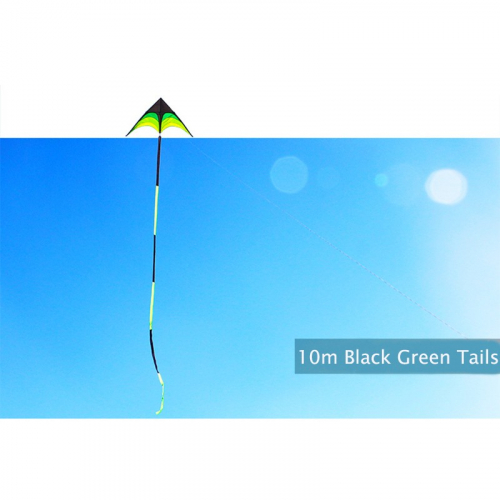 Хвост черно-зеленый 10 м